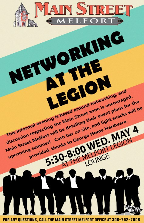 May 4 Networking event